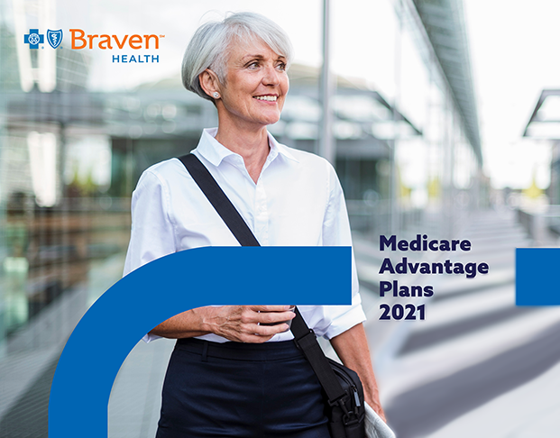 Braven Health Medicare Advantage Plans 2021 Guide Cover