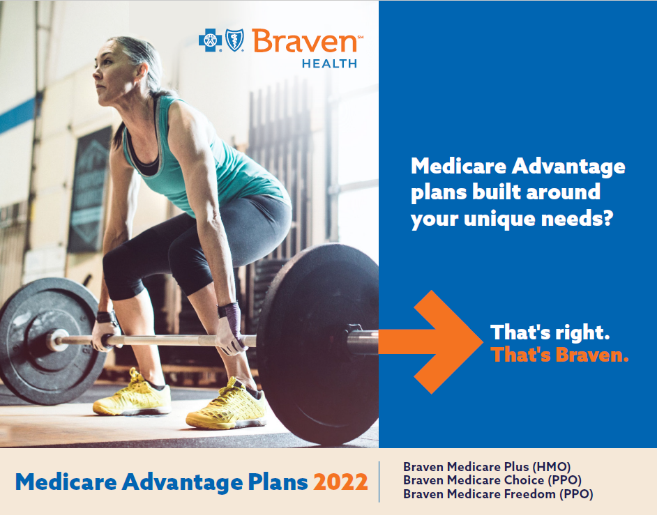 Braven Health Medicare Advantage Plans 2021 Guide Cover